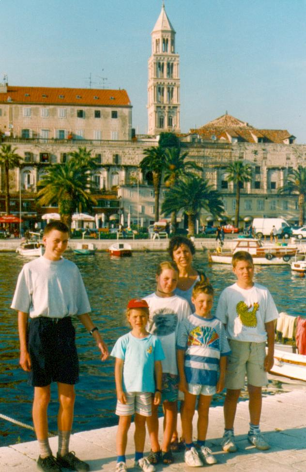 Dom und Diokletianspalast in Split (27.05.1999 / WF)